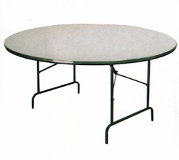 Mesas y tablones plegables para eventos y banquetes for Mesas redondas plegables para eventos