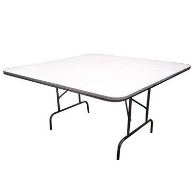Mesas y tablones plegables para eventos y banquetes for Mesa de vidrio rectangular
